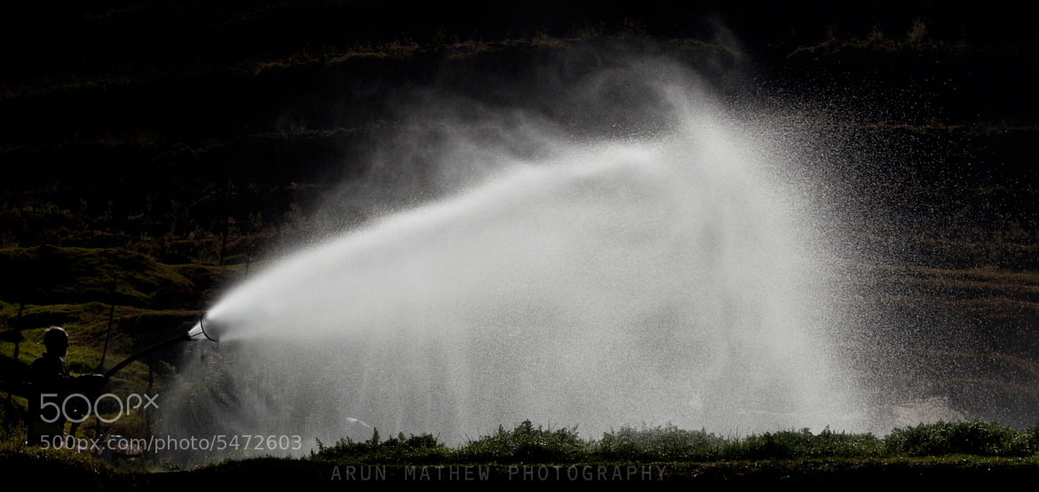 Photograph water spray by Arun Mathew on 500px