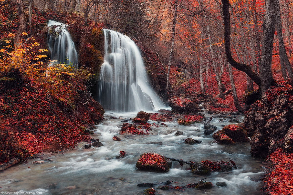 Photograph Silver Stream Waterfall by Denis Belitsky on 500px