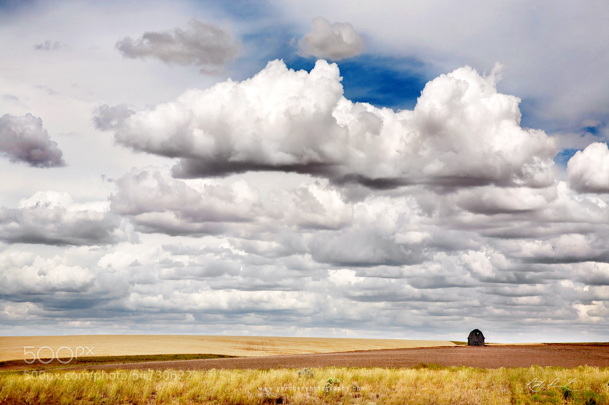 Photograph Eastern Washington Barn by Rick Parchen on 500px