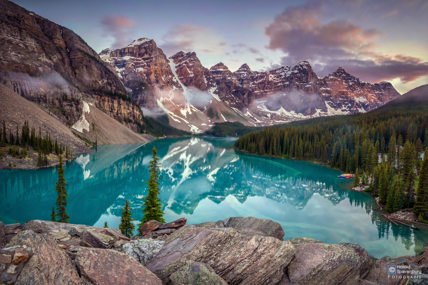 Photograph Moraine Lake by Harold Spierenburg on 500px