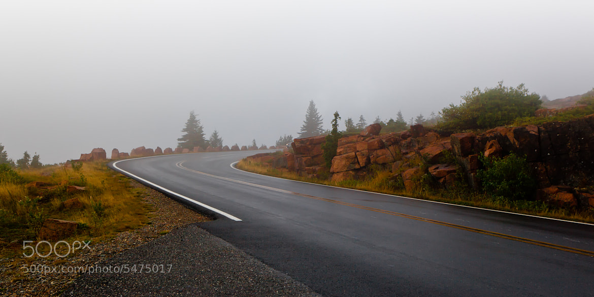 Photograph Cadillac Mountain Road by George Makris on 500px