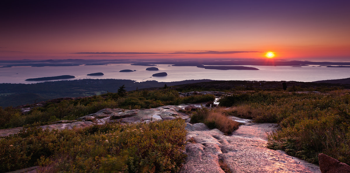 Photograph Sunrise over Bar Harbor by George Makris on 500px