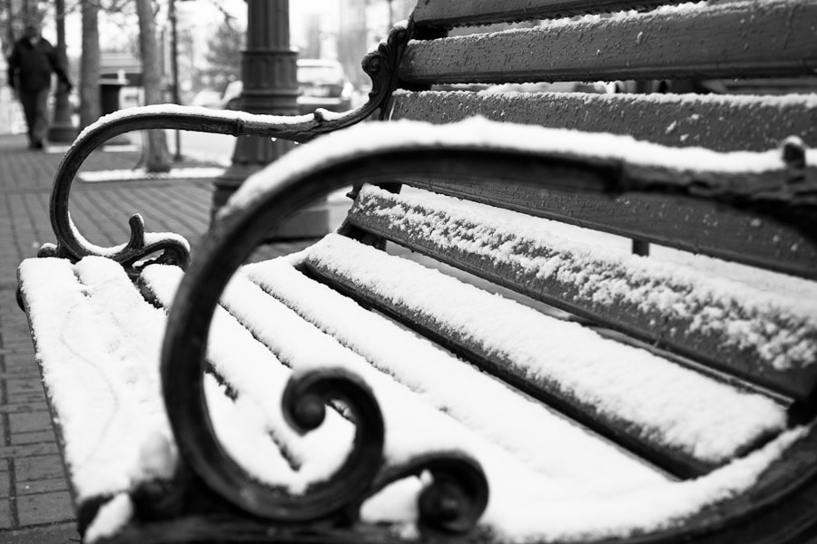 Photograph Bench by Christian Denk on 500px