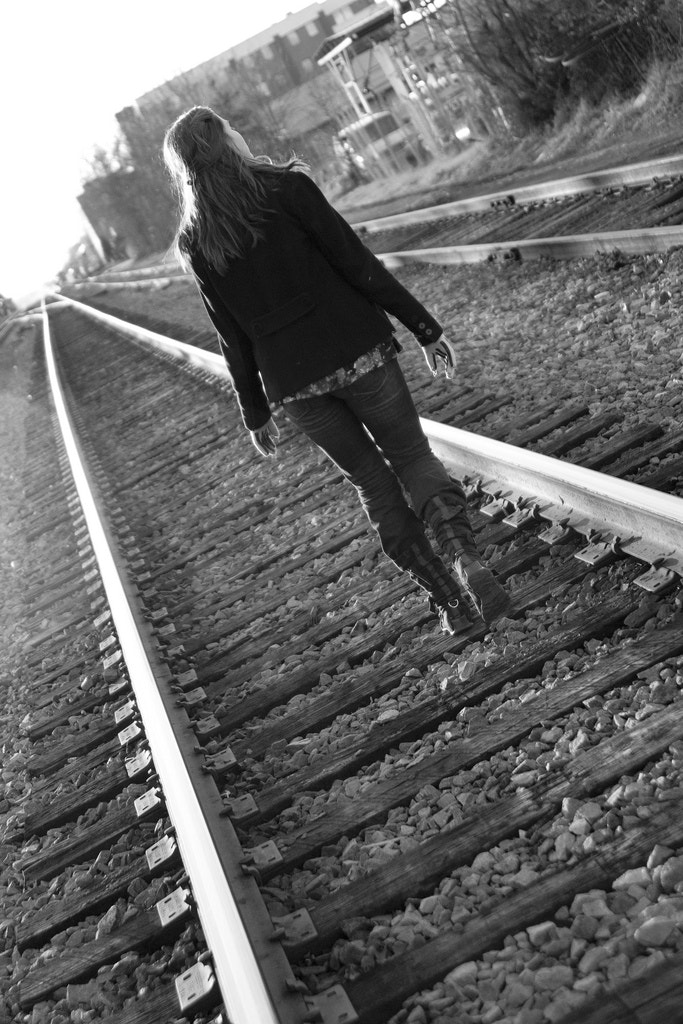 Photograph On the tracks by Kristan Barnes on 500px