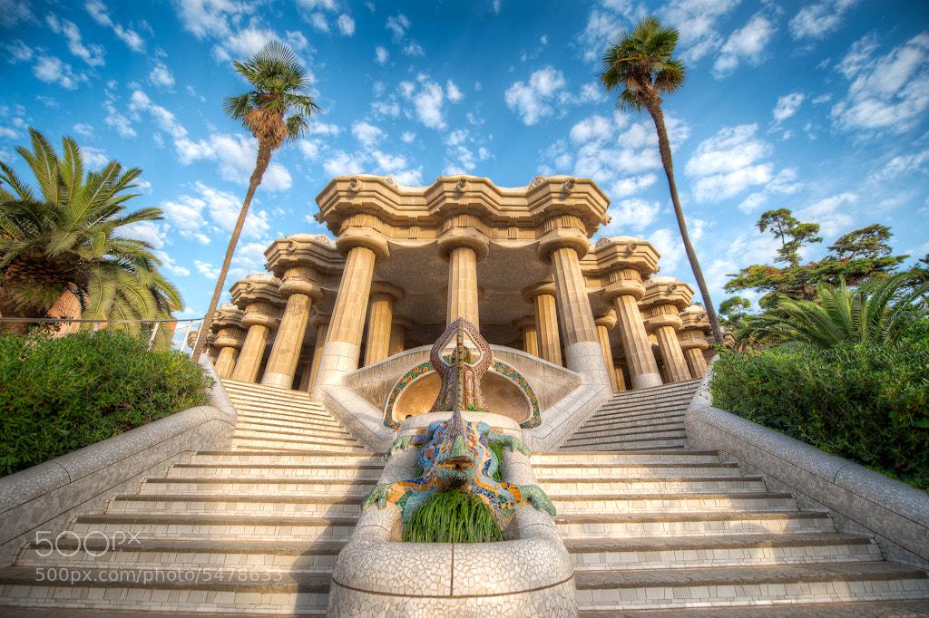 Photograph Waking Up Gaudi by Elia Locardi on 500px