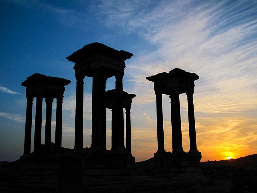 Sunset in Palmyra - 2