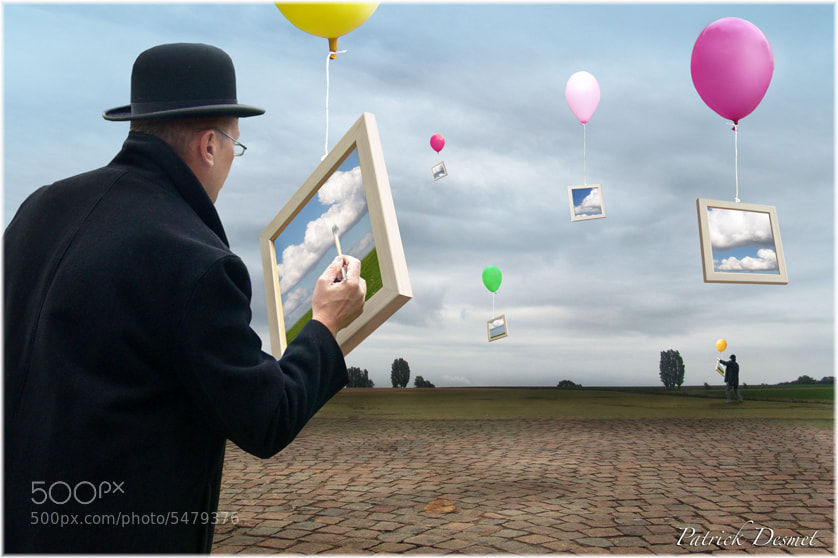 """Photograph """"The Clouds Painter"""" by Patrick Desmet on 500px"""