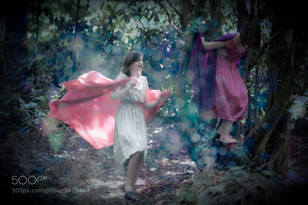 Photograph flower faeries by Anna 'Arrowlili' Irving on 500px