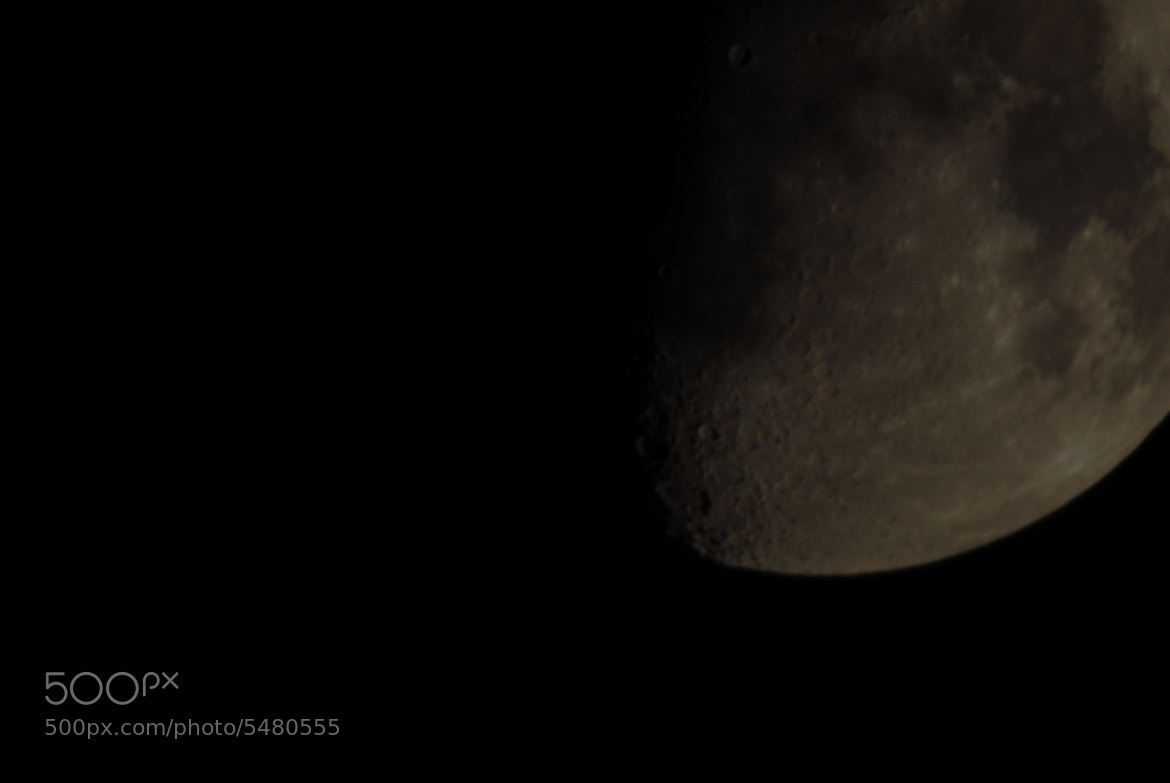 Photograph lunar crater by Jannick Rosenlund on 500px