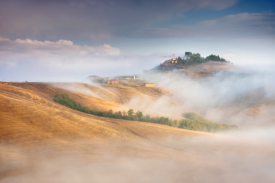 Photograph Misty hills by Marcin Sobas on 500px