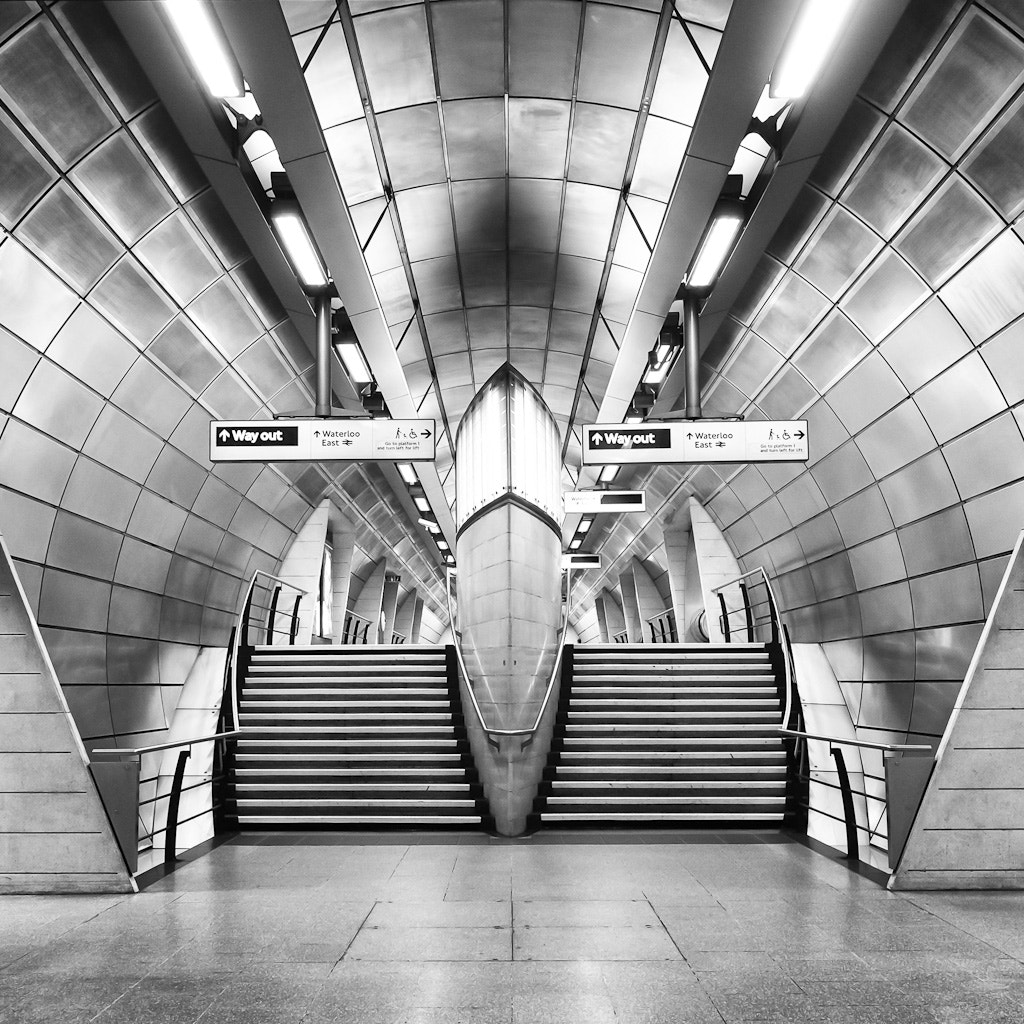 Photograph Southwark Station by Giles McGarry on 500px
