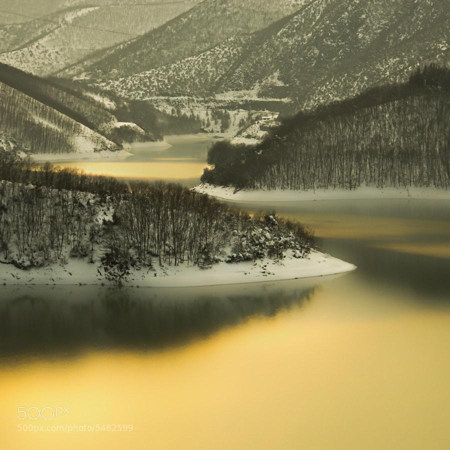 Photograph Reflection of Sunset by Hakan AKIRMAK on 500px