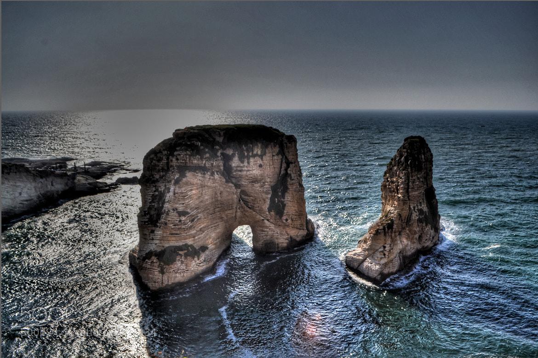 Photograph Alrousha Rocks  by jamil ghanayem on 500px