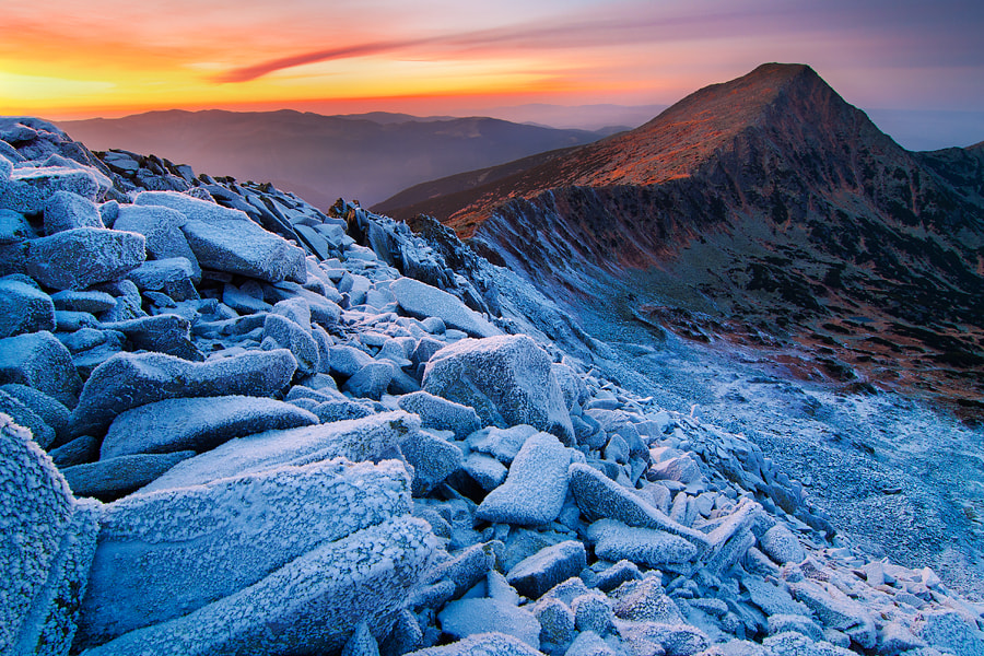 Photograph Frost and Fire by Dávid Csomai on 500px