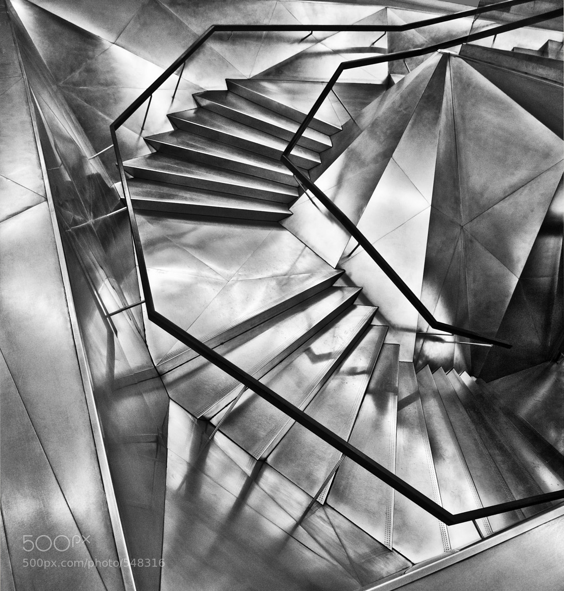 Photograph Stairs, Madrid by Ricardo Bevilaqua on 500px