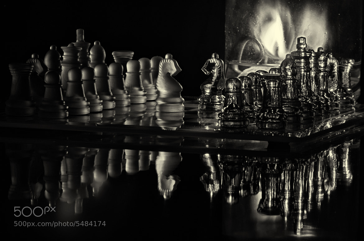 Photograph Chess by candlelight by Lori Coleman on 500px