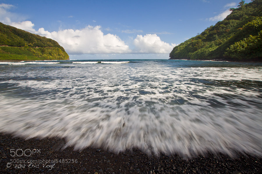 Photograph Black Sand Rush by Eric Vogt on 500px