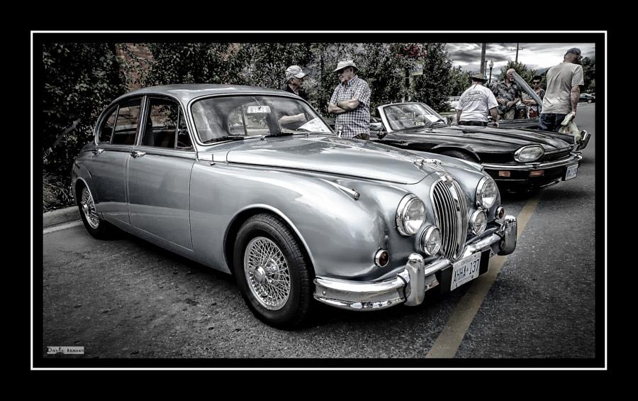 1965 Jaguar Mk2 Saloon bw