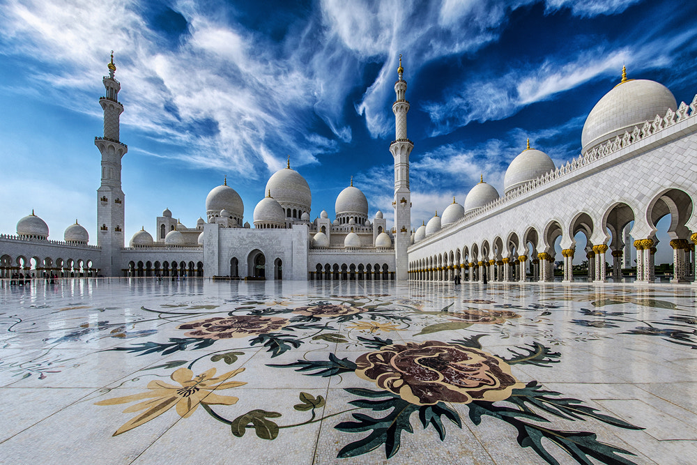 Photograph The Pearl of Abu Dhabi by WK Cheoh on 500px