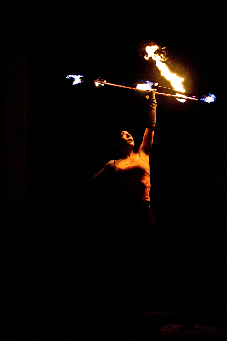 Photograph Fire Hulla Hoop by Brittany  Van Horne on 500px