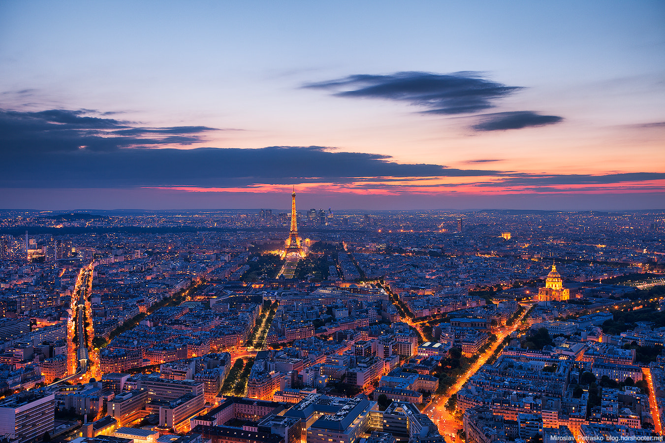 Photograph Above Paris by Miroslav Petrasko on 500px