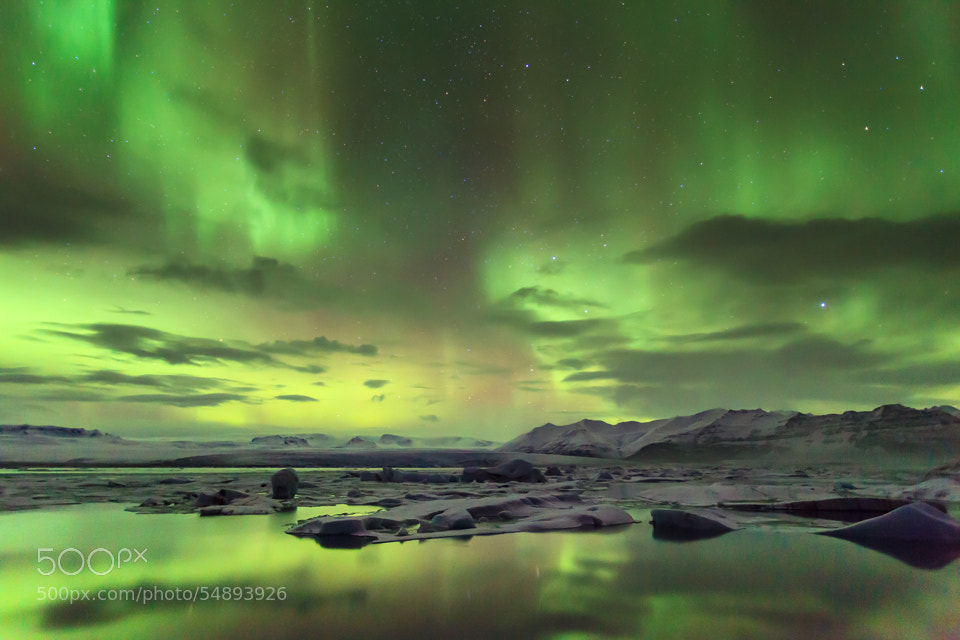 Photograph Aurora Boreales by Marcel Braam on 500px