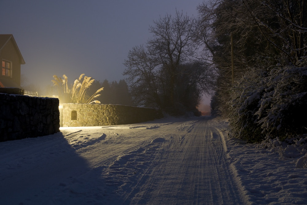 Photograph Winter roads by Richard Gribbons on 500px