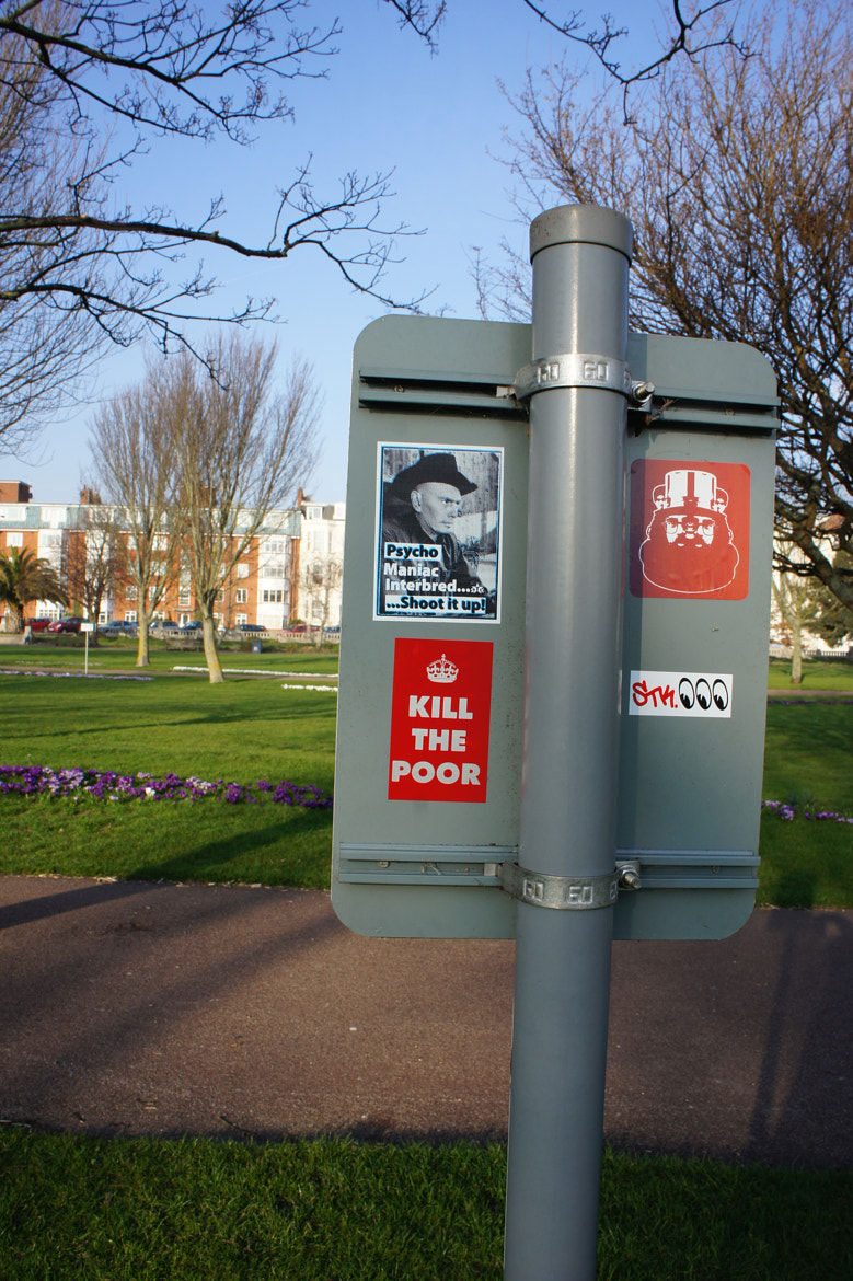 Photograph Stickee Up In Southsea by Los Dave on 500px