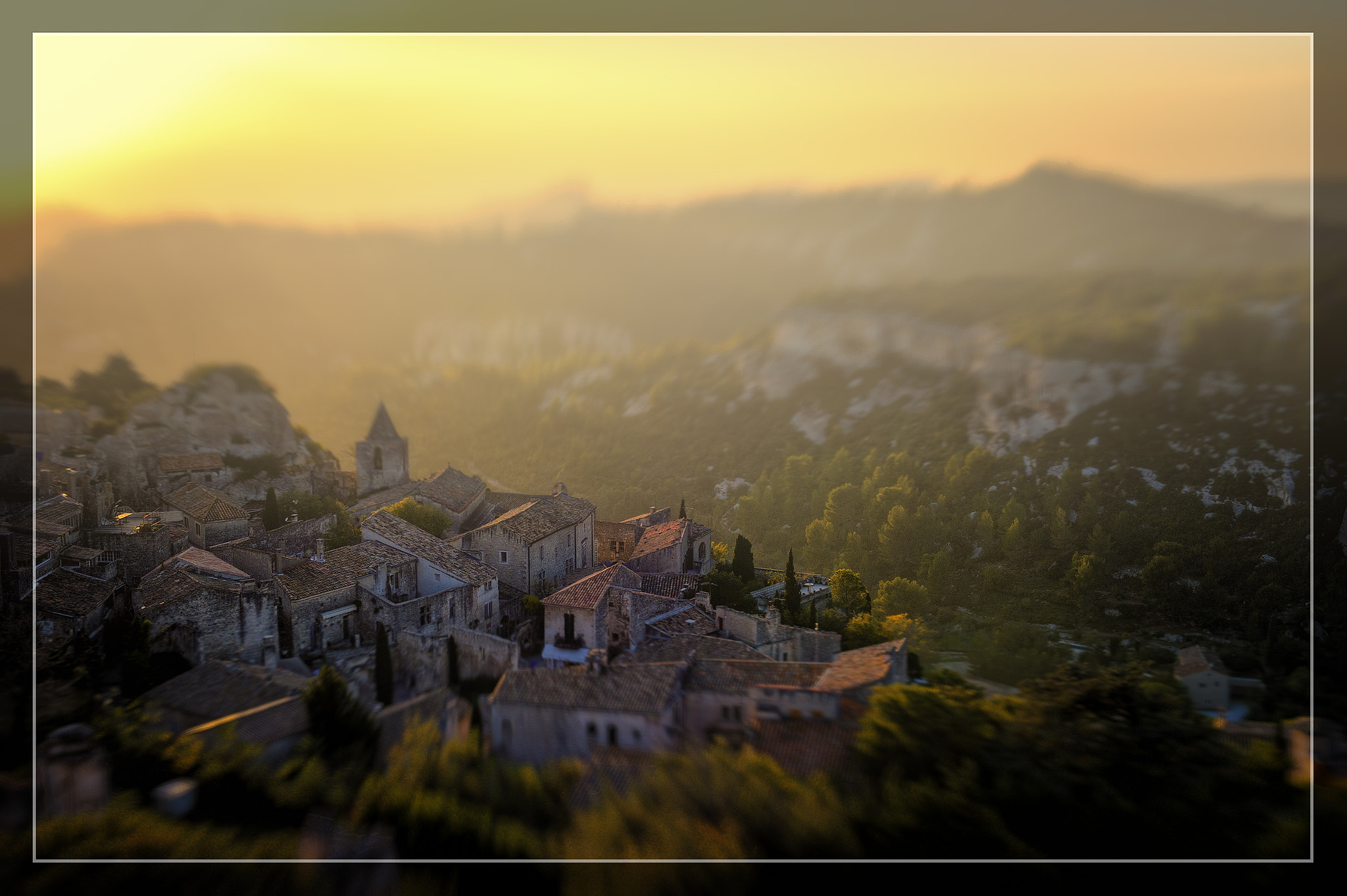Photograph Alpilles Eventide by Jon Sheer on 500px