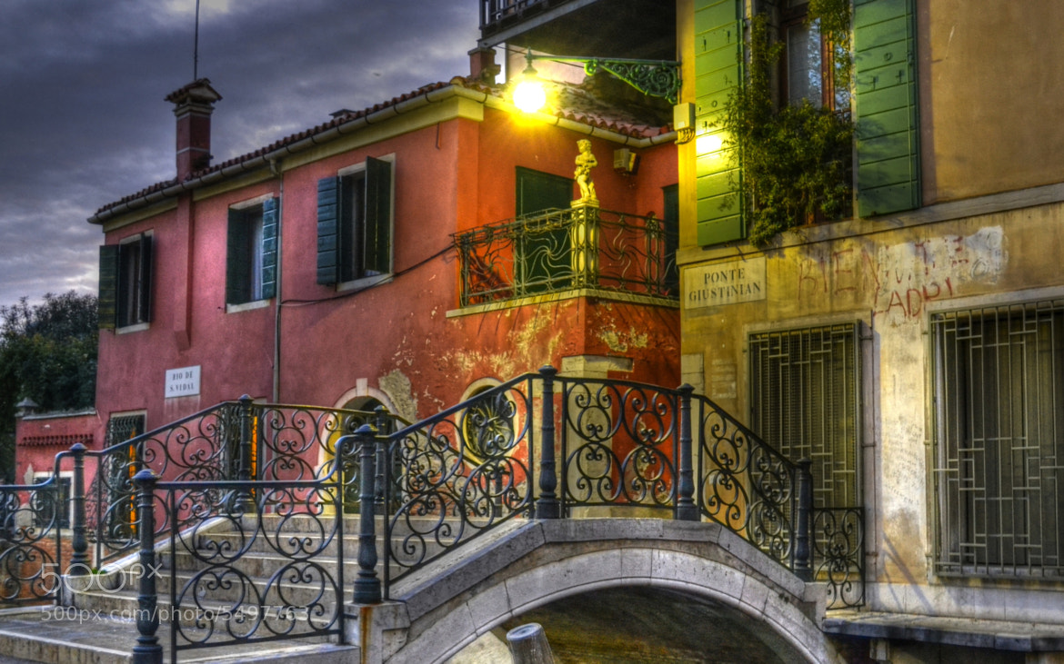 Photograph Ponte Giustinian by Charles DELEPINE on 500px