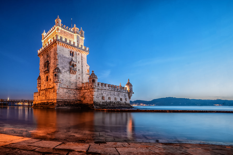 Belém dusk by Carlos Cardoso on 500px.com