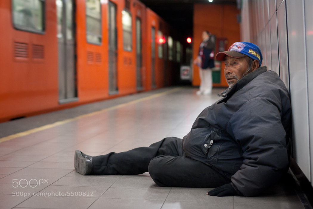 Photograph Homeless - Subway by Chad Santos on 500px