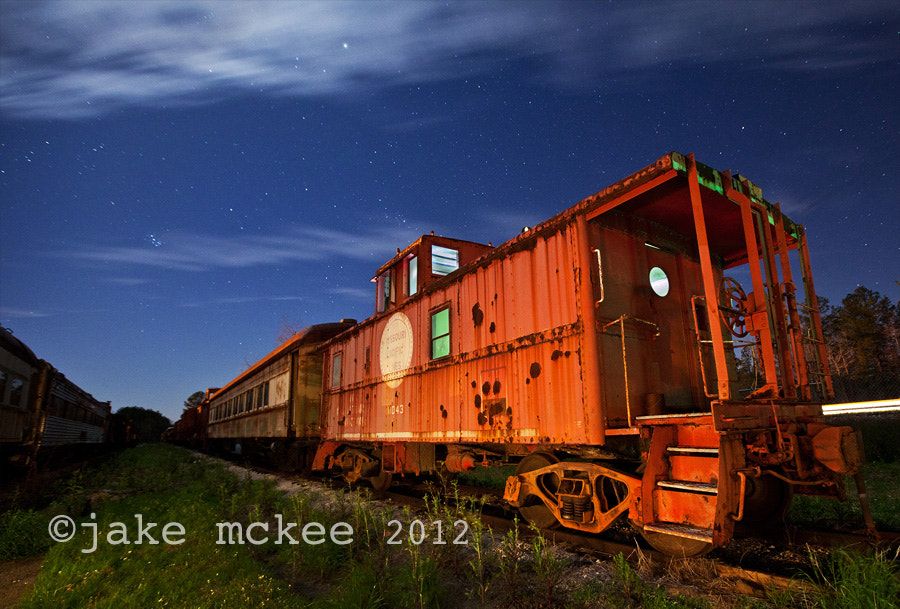 Photograph Night Train by Jake  McKee on 500px