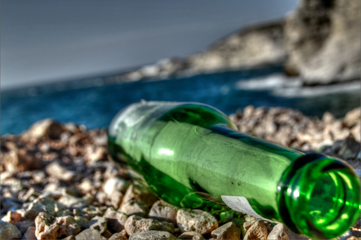 Photograph Message in a bottle  by jamil ghanayem on 500px