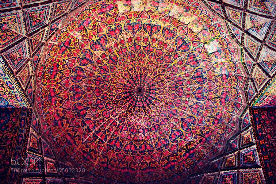 Photograph Nasir al-Mulk Mosque by Marinela T. Gondii on 500px