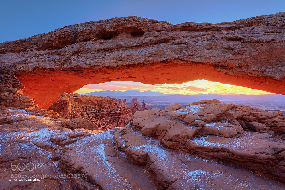 Photograph Mesa Arch by Jarrod Castaing on 500px