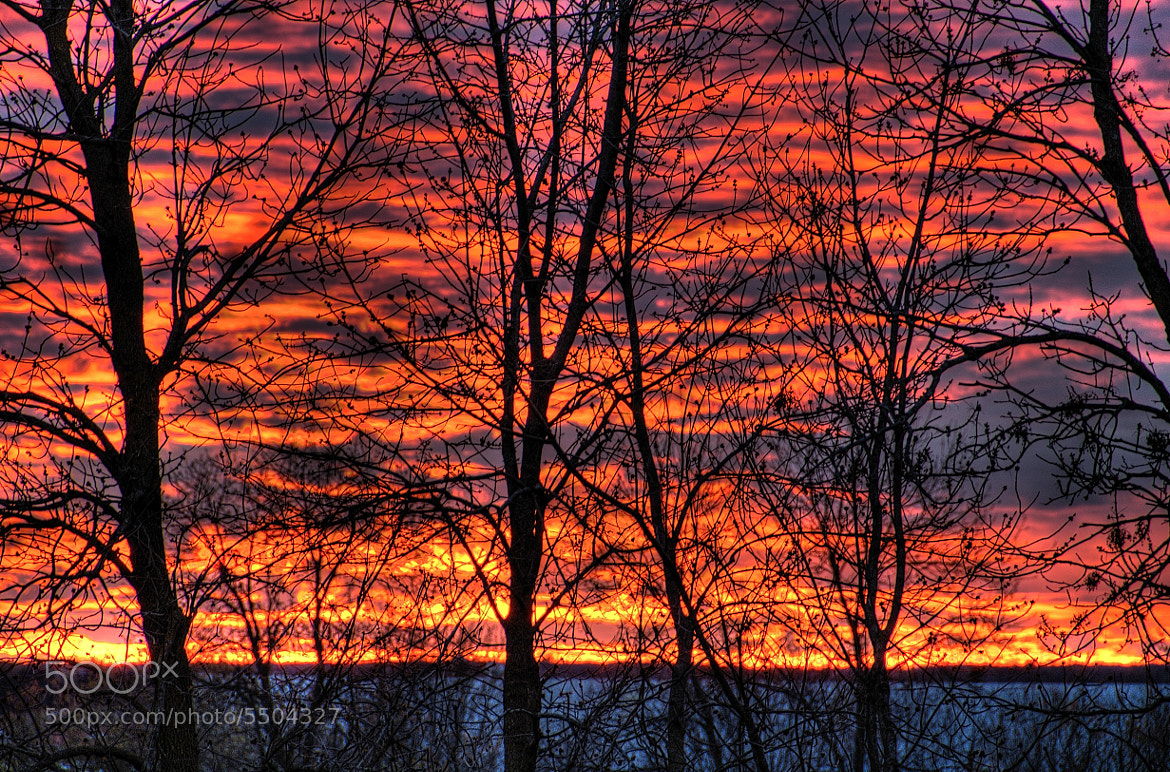 Photograph Fire in the sky. by Marc Labelle on 500px
