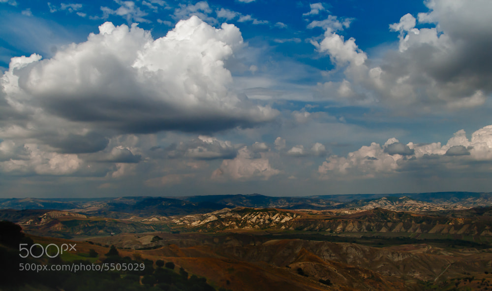 Photograph Clouds over Southern Italy by Sandy Stigliano on 500px