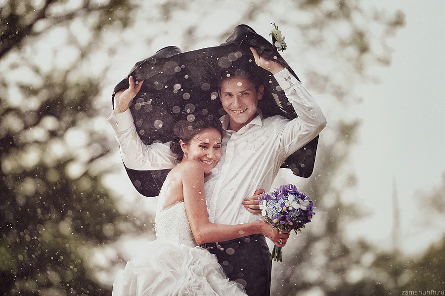 Wedding In The Rain 4 By Ivan Zamanuhin On 500px