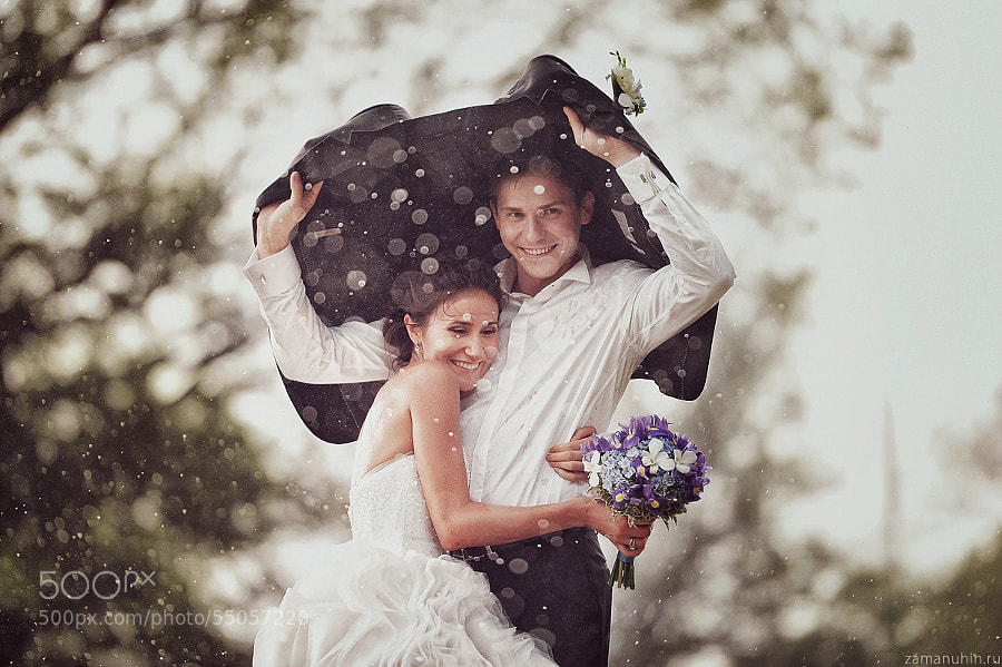Photograph Wedding in the rain 4 by Ivan Zamanuhin on 500px