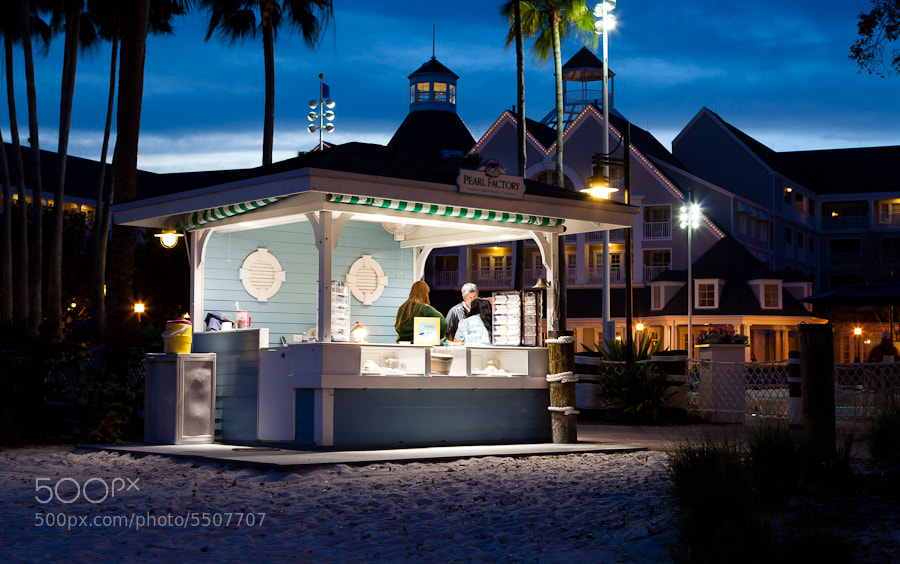 Photograph The Pearl Factory, Disney Beach Club, Florida. by Stanton Champion on 500px