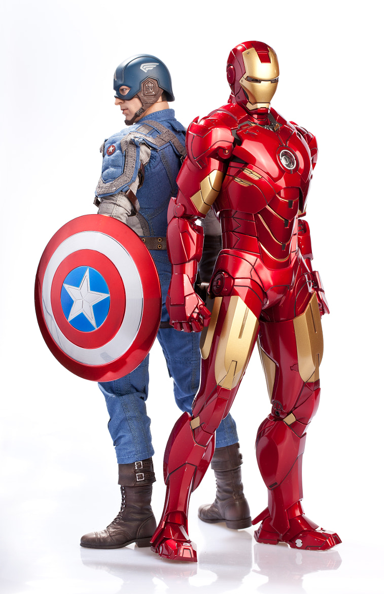 Photograph Captain America&Iron Man by Jesus M. López on 500px