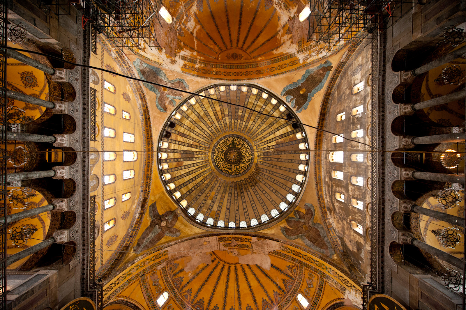 Photograph Ceiling at the Hagia Sofia by Daniel Mora on 500px
