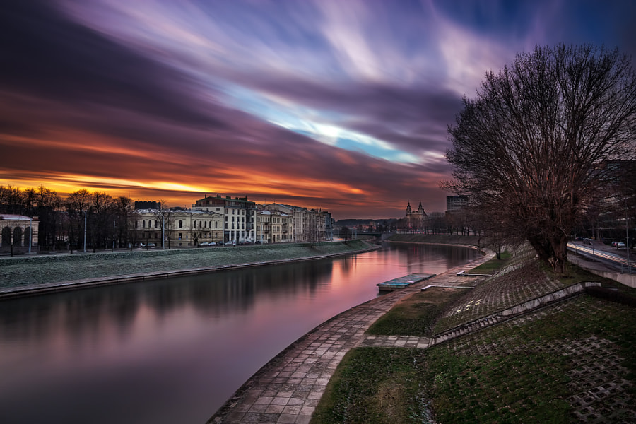 Neris river by Lukas Jonaitis on 500px.com