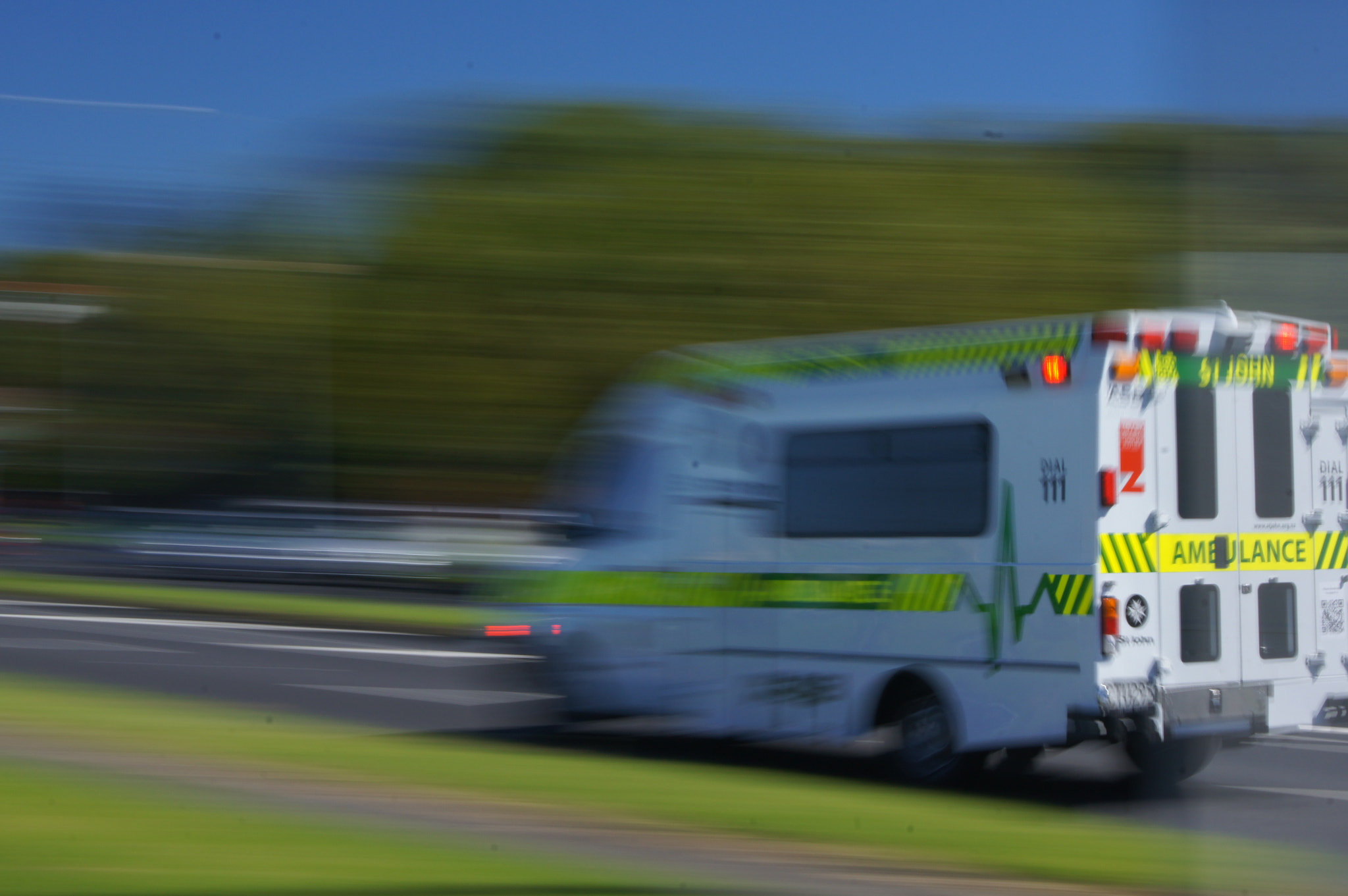 Photograph Ambulance at speed by Keran McKenzie on 500px