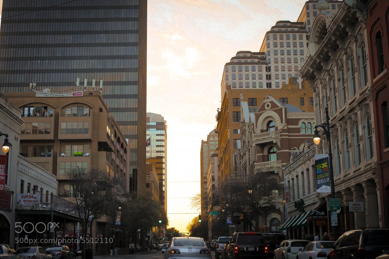 Photograph 6th Street Magic Hour. by Tori Lesikar on 500px