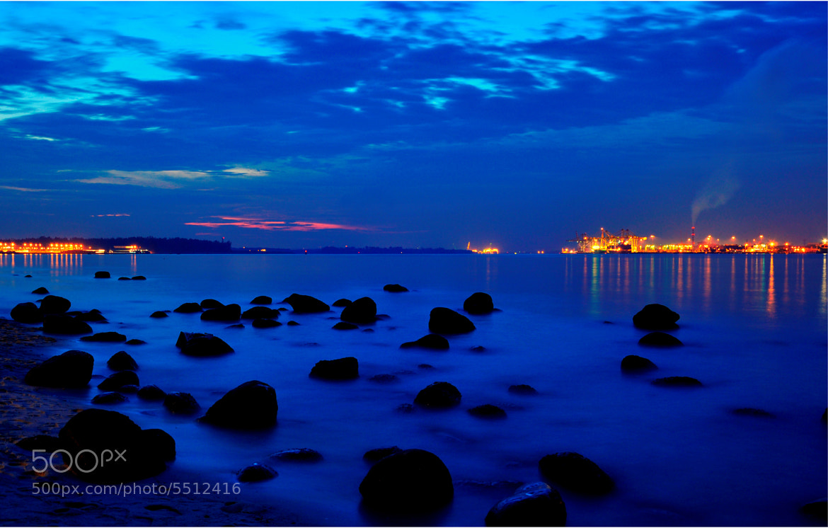 Photograph Blue Hour by Rey Emilio Talam on 500px