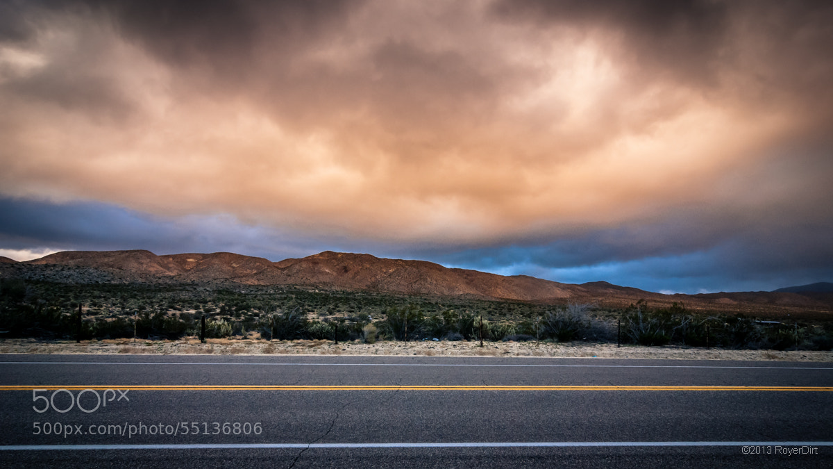 Photograph Shelter Valley, CA by Royer Dirt on 500px