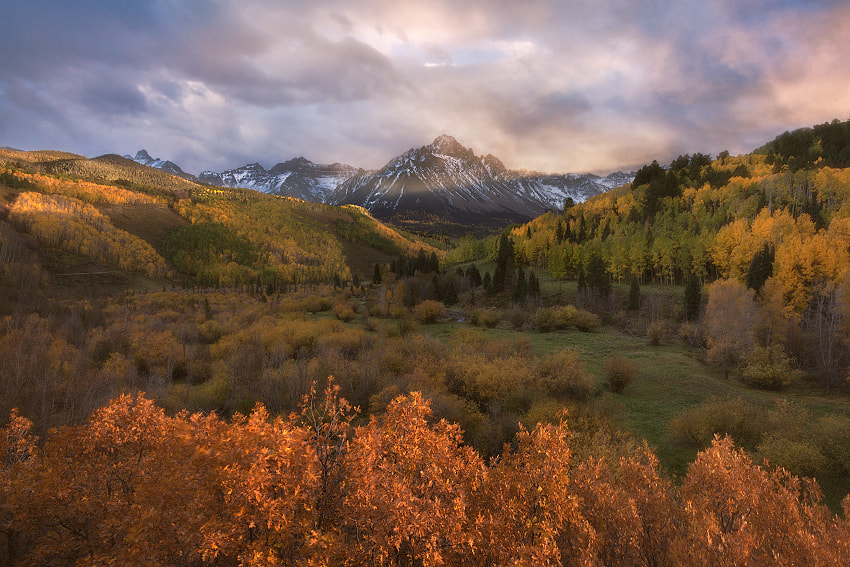 Photograph magnificent seven (mt. sneffels, colorado) by Max Vuong on 500px