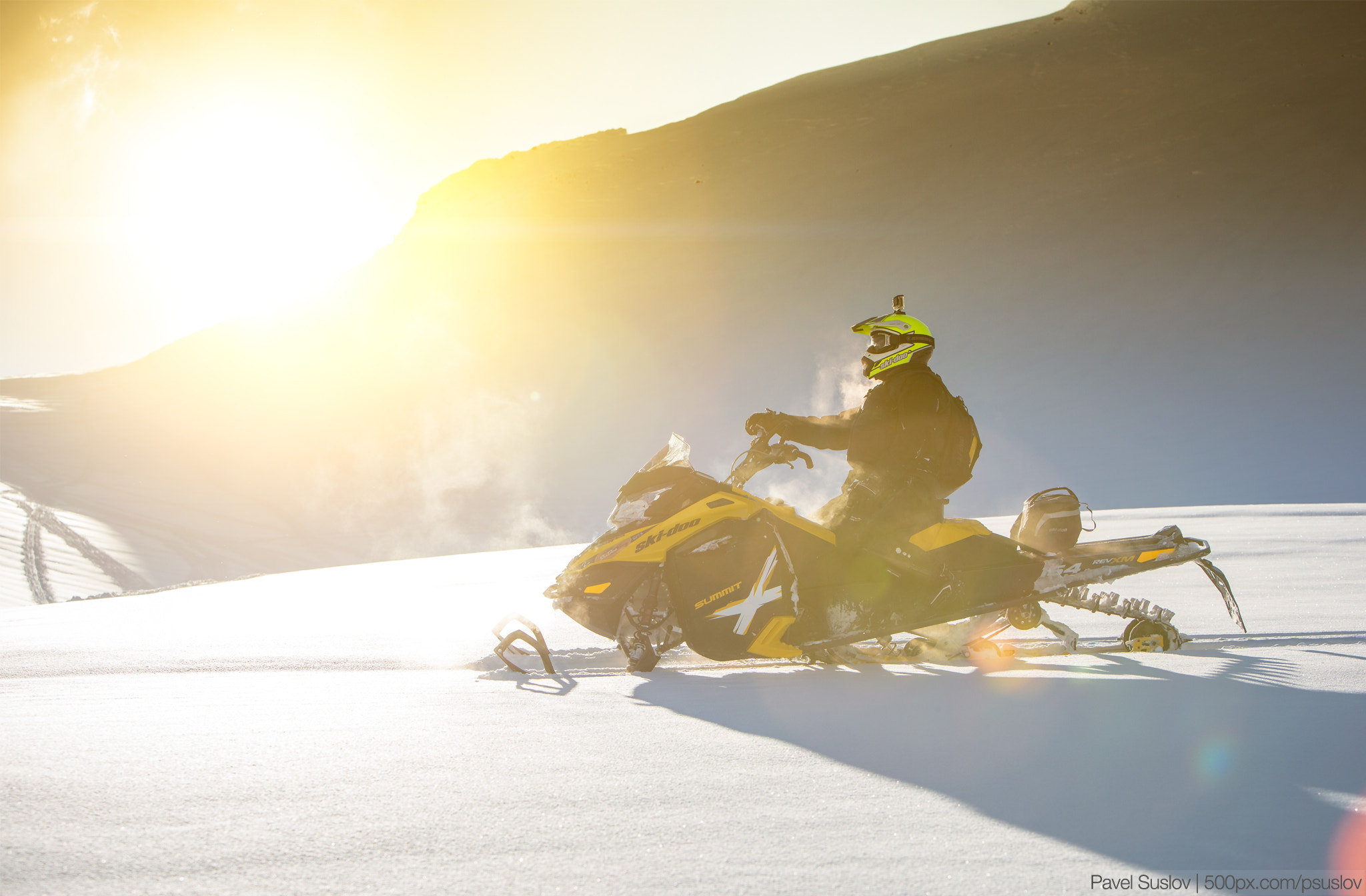 "Photograph Ski Doo Summit 154"" by Pavel Suslov on 500px"